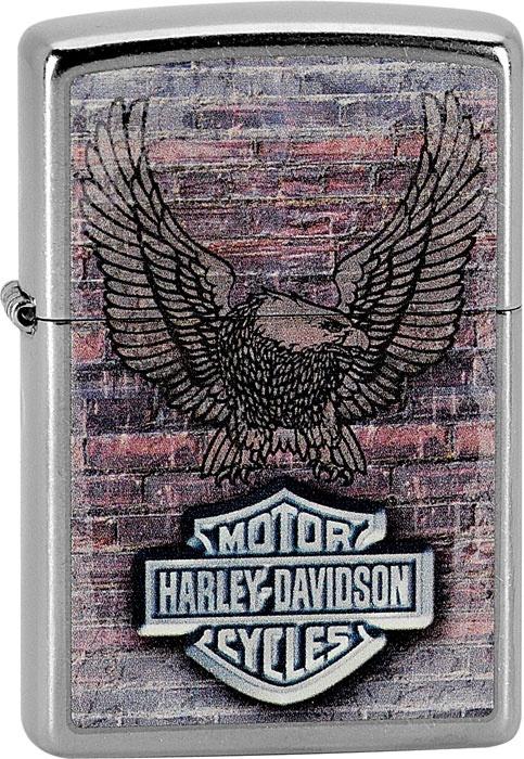 Benzínový zapalovač Zippo Harley-Davidson® 25381 (Benzín Zdarma)