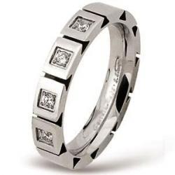 Ocelový prsten AKCE RSS322-CZ