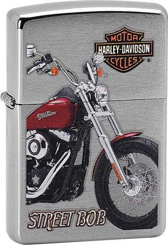 Benzínový zapalovač Zippo Harley-Davidson® 21764 (Benzín Zdarma)