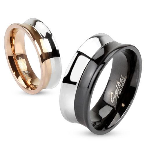 Snubní prsteny z chirurgické oceli R-M2993