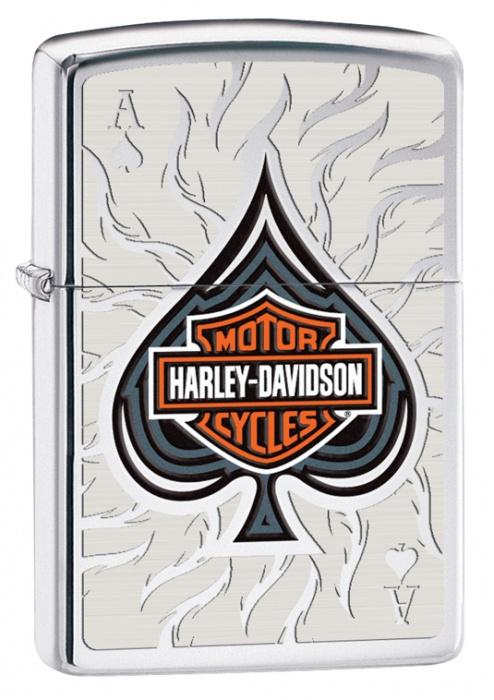 Benzínový zapalovač Zippo Harley-Davidson® 22892 (Benzín Zdarma)