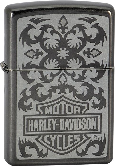 Benzínový zapalovač Zippo Harley-Davidson® 26567 (Benzín Zdarma)