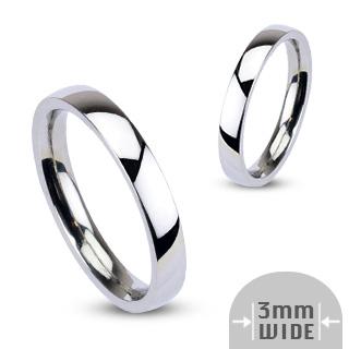 Snubní prsteny z chirurgické oceli R001-3