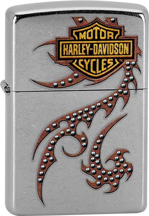 Benzínový zapalovač Zippo Harley-Davidson® 25382 (Benzín Zdarma)