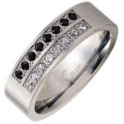 Prsten Couple RSCL13-CZ-J (Ocelový prsten Couple RSCL13-CZ-J)