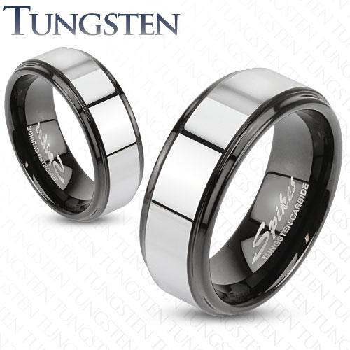 Wolframové snubní prsteny R-TU-181