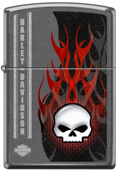 Benzínový zapalovač Zippo Harley-Davidson® 26615 (Benzín Zdarma)