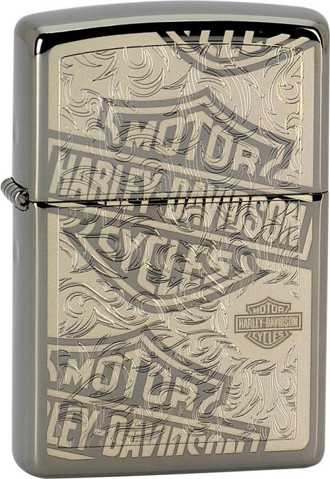 Benzínový zapalovač Zippo Harley-Davidson® 25386 (Benzín Zdarma)