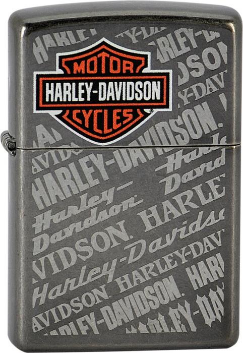 Benzínový zapalovač Zippo Harley-Davidson® 26566 (Benzín Zdarma)