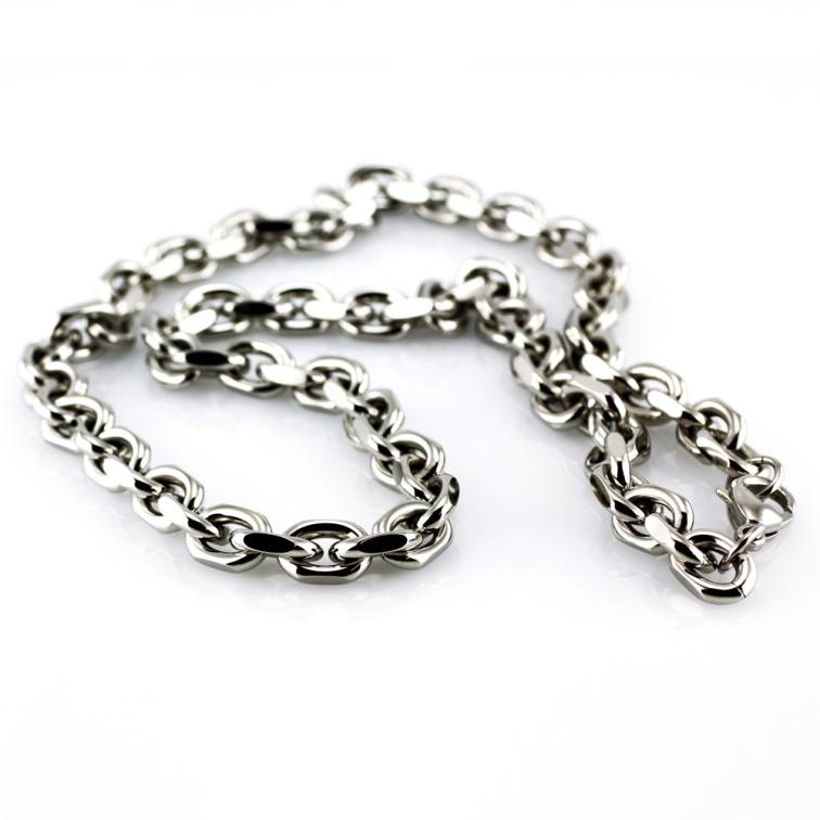 Masivní řetěz z oceli SNE-6396
