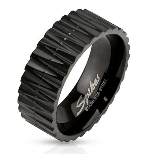 Prsten z chirurgické oceli R-S1415 (Dárkové balení zdarma)
