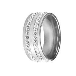 Swarovski Swarovski crystals RSSW08-CZ (Ocelový prsten Swarovski crystals RSSW08-CZ)