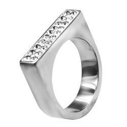 Swarovski Swarovski crystals RSSW09-CZ (Ocelový prsten Swarovski crystals RSSW09-CZ)