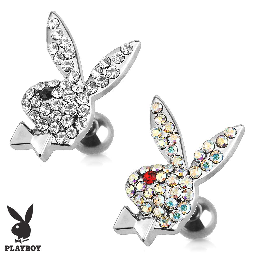 Náušnice Playboy chirurgická ocel PBJB-03