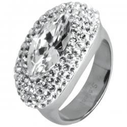 Swarovski Swarovski crystals RSSW13-CZ (Ocelový prsten Swarovski crystals RSSW13-CZ)