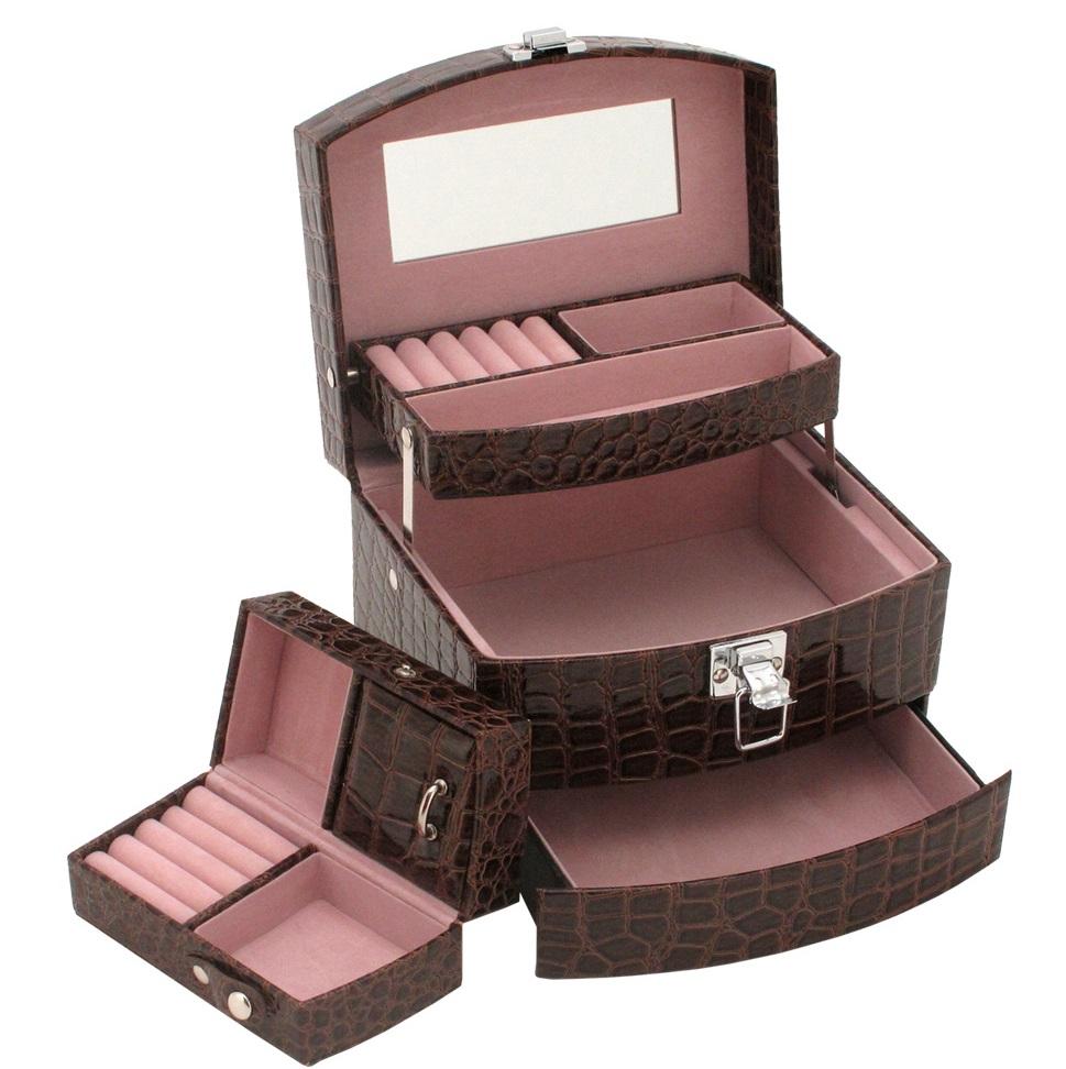 Šperkovnice JKBox Brown SP250-A21