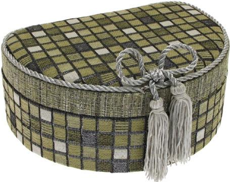 Šperkovnice JKBox Cube Green SP292-A19