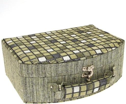 Šperkovnice JKBox Cube Green SP290-A19