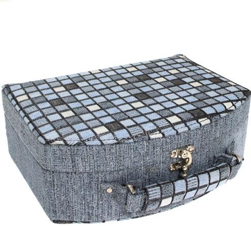 Šperkovnice JKBox Cube Blue SP290-A13