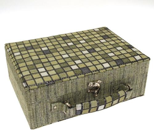 Šperkovnice JKBox Cube Green SP289-A19