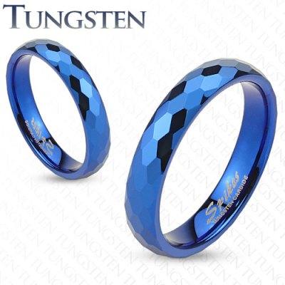 Wolframové snubní prsteny R-TUF-011