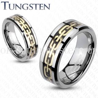Wolframové snubní prsteny R-TU-177