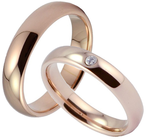 Wolframové snubní prsteny R-TW-004