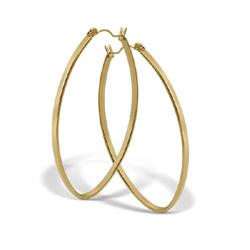 Náušnice z chirurgické oceli ESH40-GOLD (Ocelové Náušnice ESH40-GOLD)