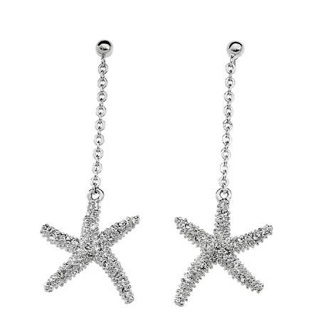 Náušnice Oliver Weber Starfish 2 - 9692