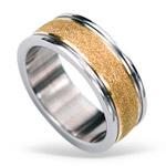 Prsten z chirurgické oceli RSS424 ROSEGOLD (Prsten z chirurgické oceli RSS424 ROSEGOLD)