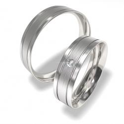 Snubní prsten 0140202143 (Ocelový snubní prsten 0140202143)
