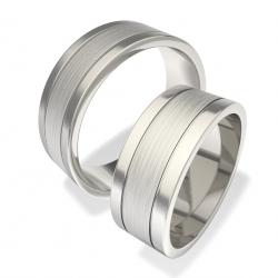 Snubní prsteny 0140200106 (Ocelové Snubní prsteny 0140200106)