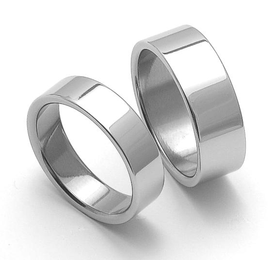 Snubní ocelové prsteny ZERO Collection rz06000+rz08000 (Snubní ocelové prsteny ZERO Collection rz06000+rz08000)