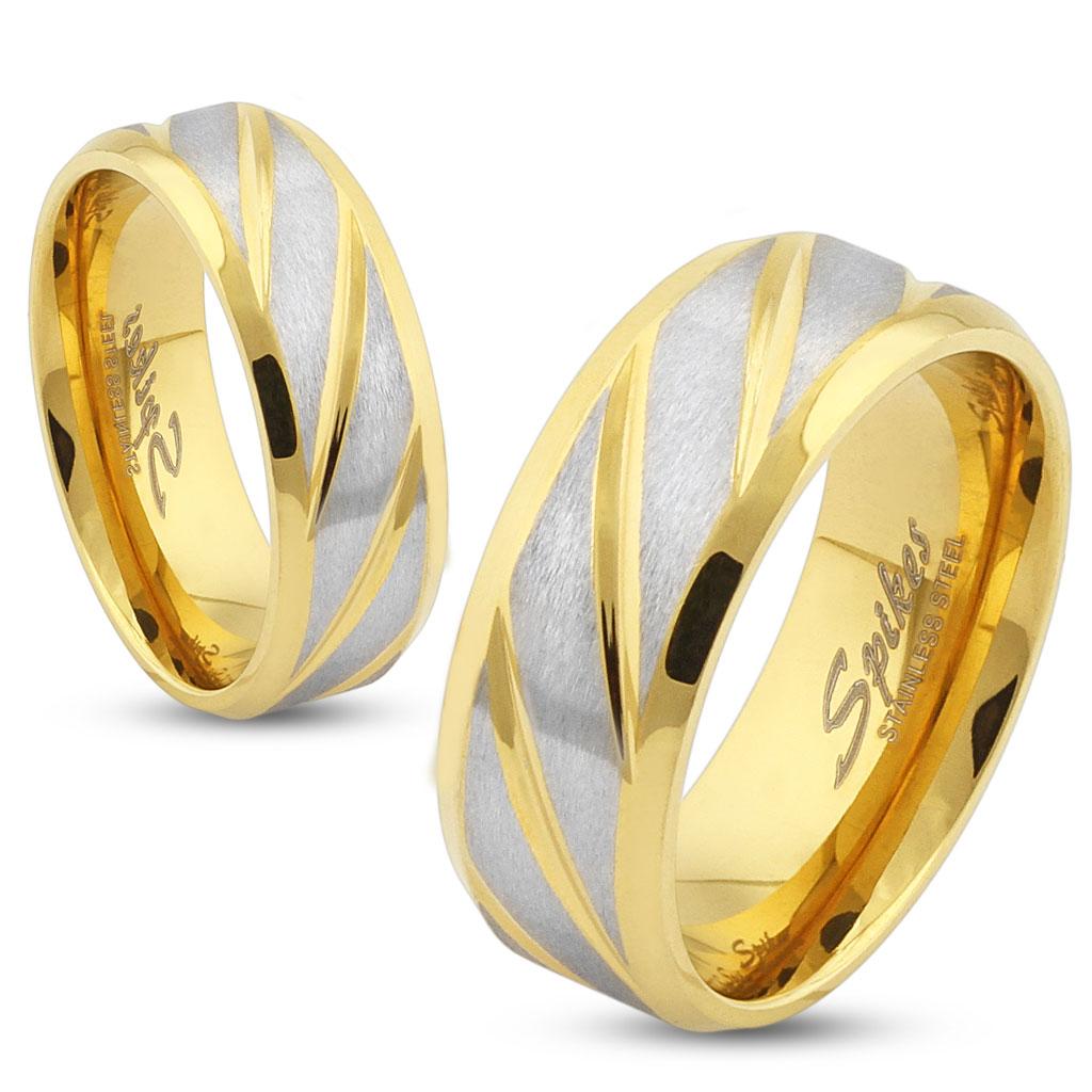 Snubní prsteny R-S1561G