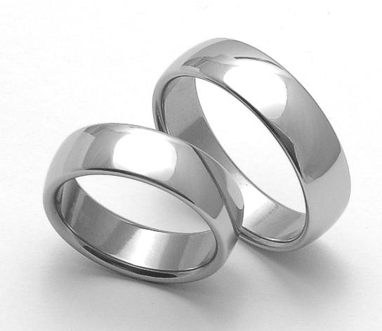 Snubní ocelové prsteny ZERO Collection rz16000+rz16000 (Snubní ocelové prsteny ZERO Collection rz16000+rz16000)