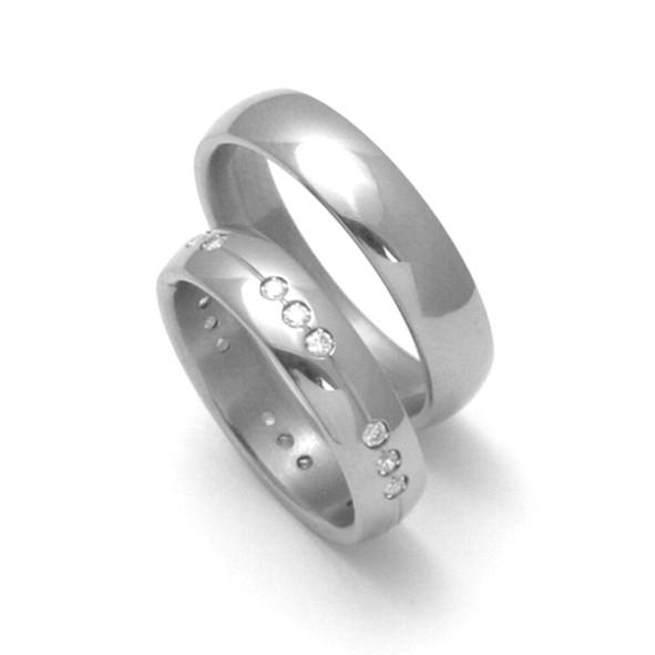 Snubní Titanové prsteny ZERO Collection TTN0101+TTN2602 (Snubní Titanové prsteny ZERO Collection TTN0101+TTN2602)