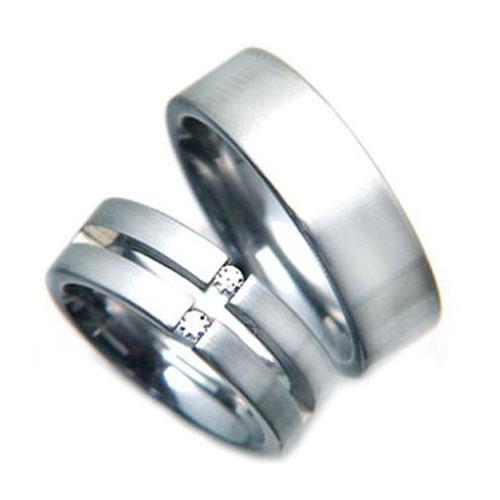 Snubní ocelové prsteny TR77220R7 (Snubní ocelové prsteny TR77220R7)