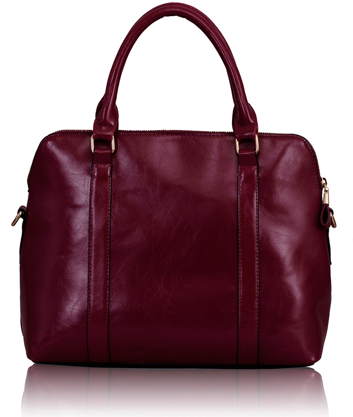Kabelka LS00231 - Purple Grab Tote Bag