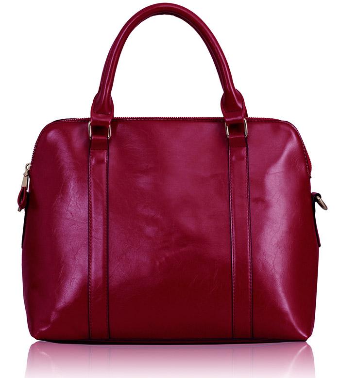 Kabelka LS00231 - Fuchsia Grab Tote Bag