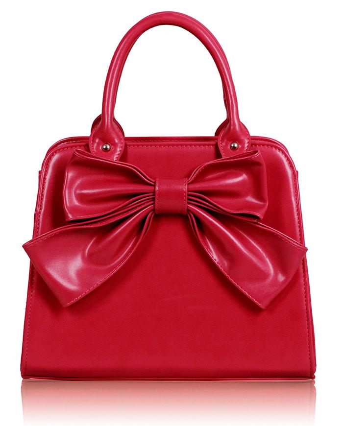 Kabelka LS005A- Pink Bow Tote Bag