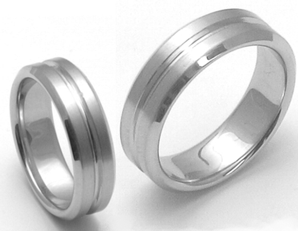 Snubní Titanové prsteny ZERO Collection 3101+ttn3101 (Snubní Titanové prsteny ZERO Collection 3101+ttn3101)