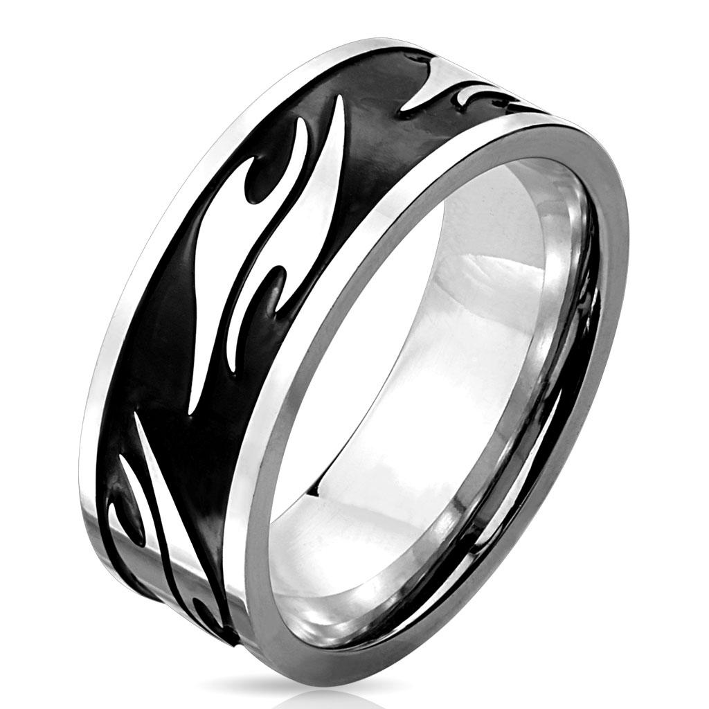 Prsten z chirurgické oceli R-M3978 (Dárkové balení zdarma)