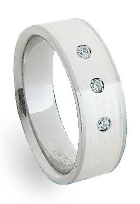 Snubní Ocelový prsten se stříbrem ZAG06750 (Snubní Ocelový prsten se stříbrem ZAG06750)