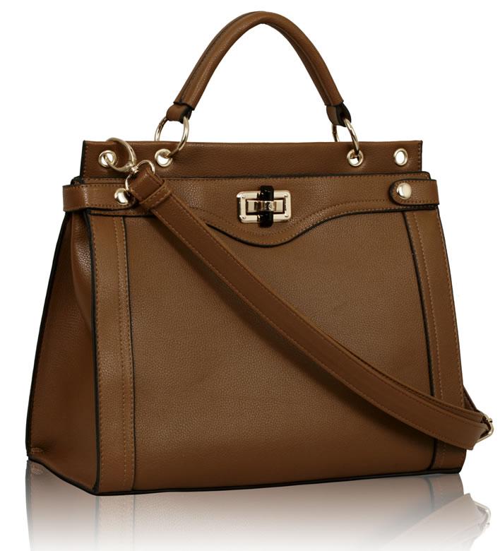 Kabelka LS0056 - Oak Fashion Tote Handbag