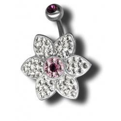 Swarovski Piercing ATCFLOWER07-A