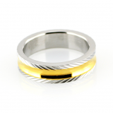 Pánské prsteny z chirurgické oceli