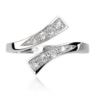 Stříbrný prsten na nohu TR-SS020