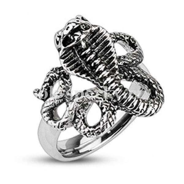 Prsten z chirurgické oceli R-H2098