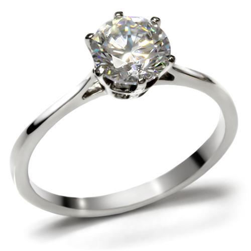 Prsten z chirurgické oceli R-D025